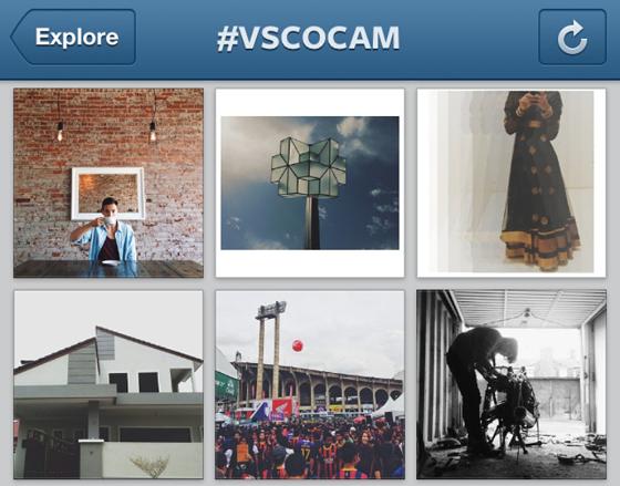 VSCO онлайн